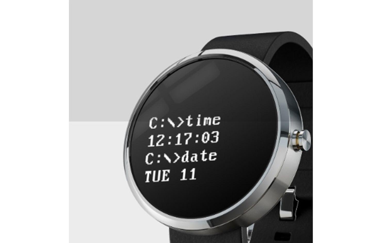wear os watch face dos design