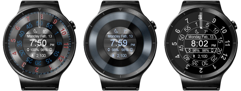 wear os watch face mystic circle