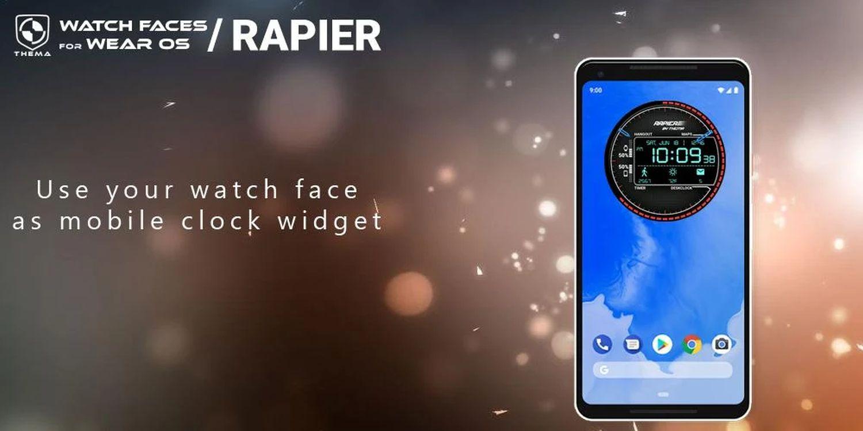 wear os watch face rapier 6
