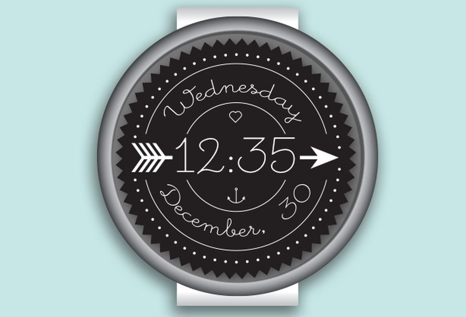 wear os watch face skinny love cover