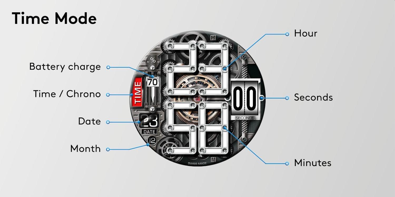 wear os watch face time machine 3