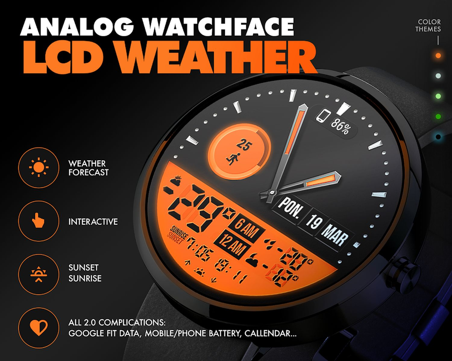 wear os watch face weather 1