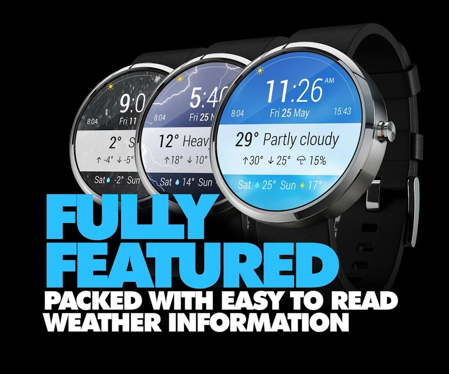 wear os watch face weather 4