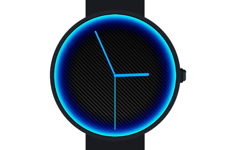 wear os watch neon