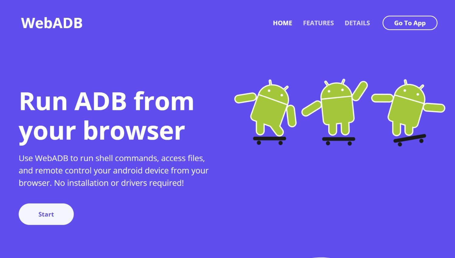 webadb browser