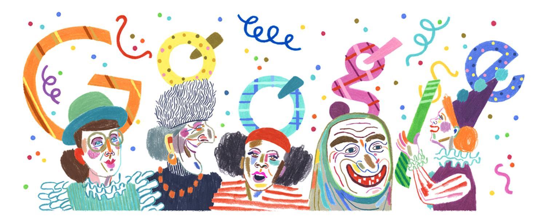 weiberfastnacht google doodle