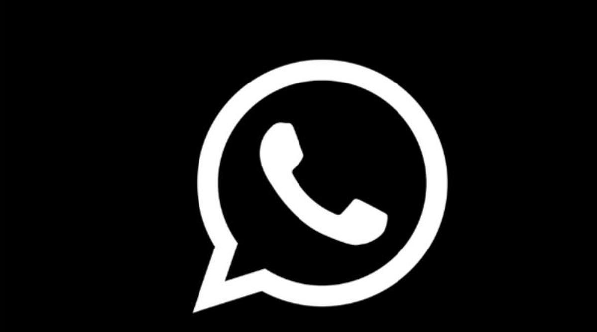 whatsapp black