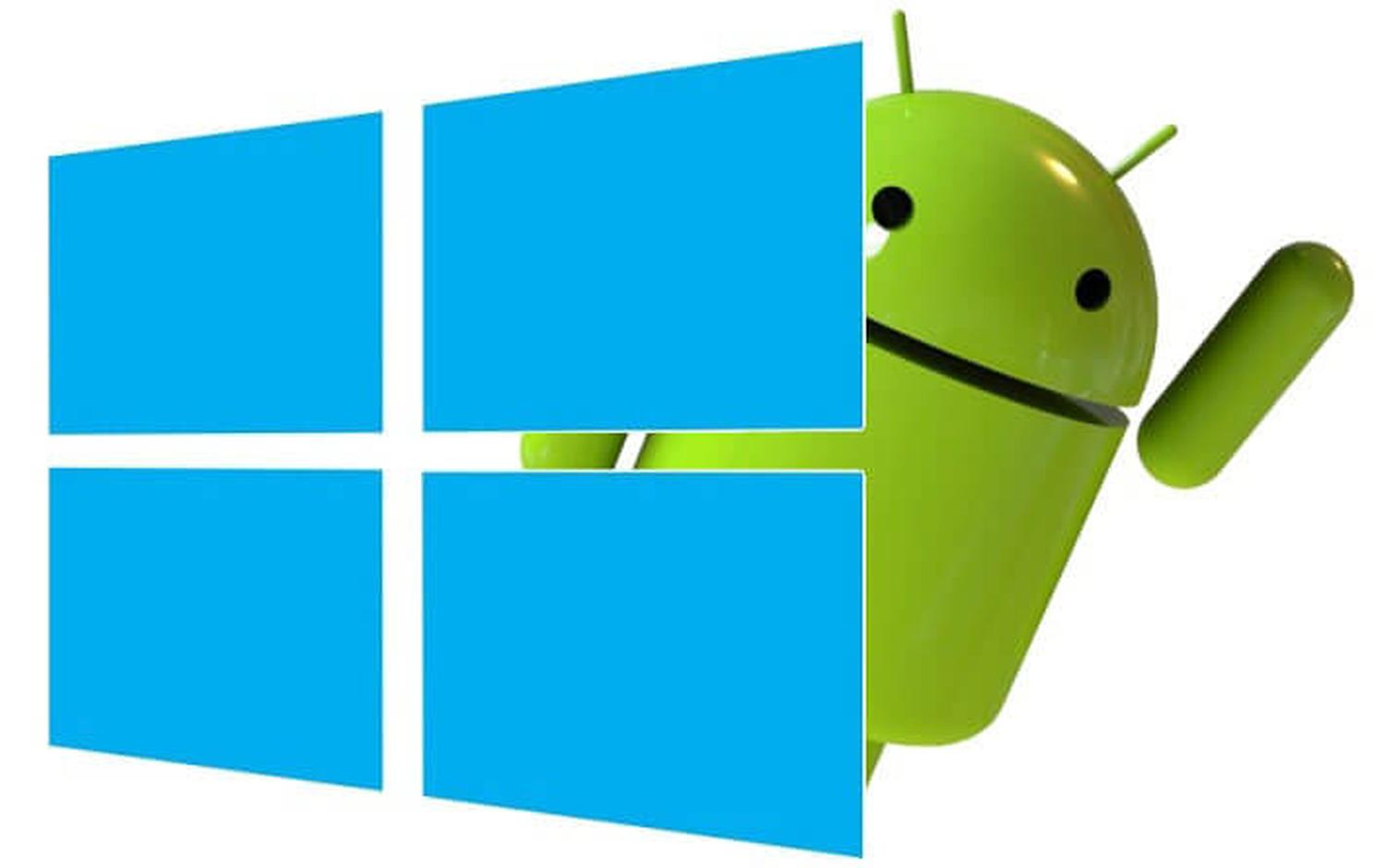 windows android logo