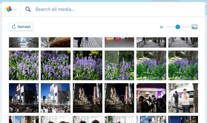 wordpress google photos
