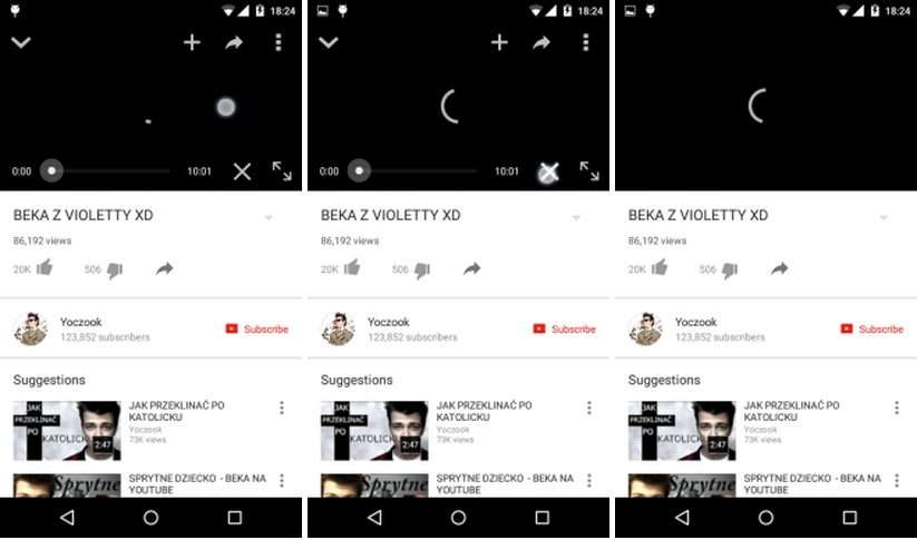youtube X