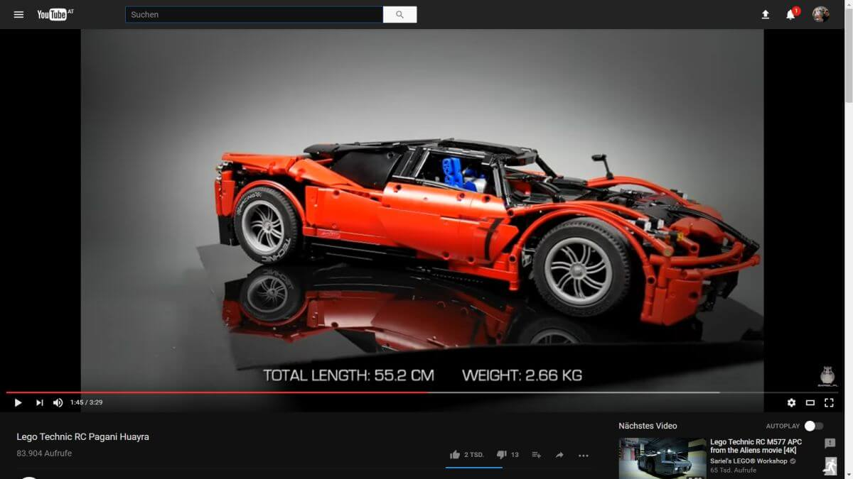 youtube dark mode fullscreen
