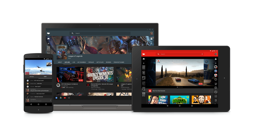 youtube gaming devices