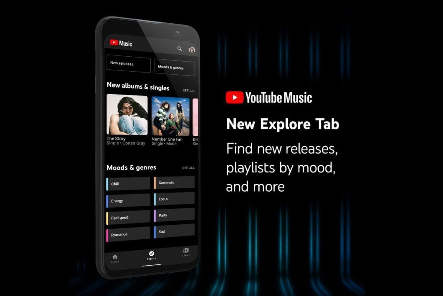 youtube music explore