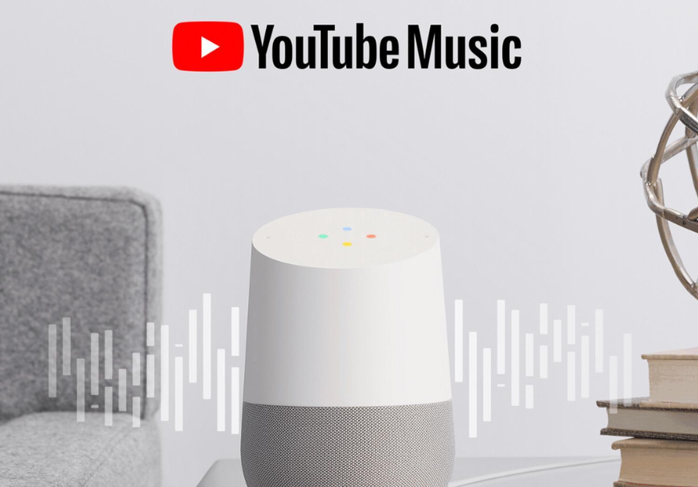 youtube music google home