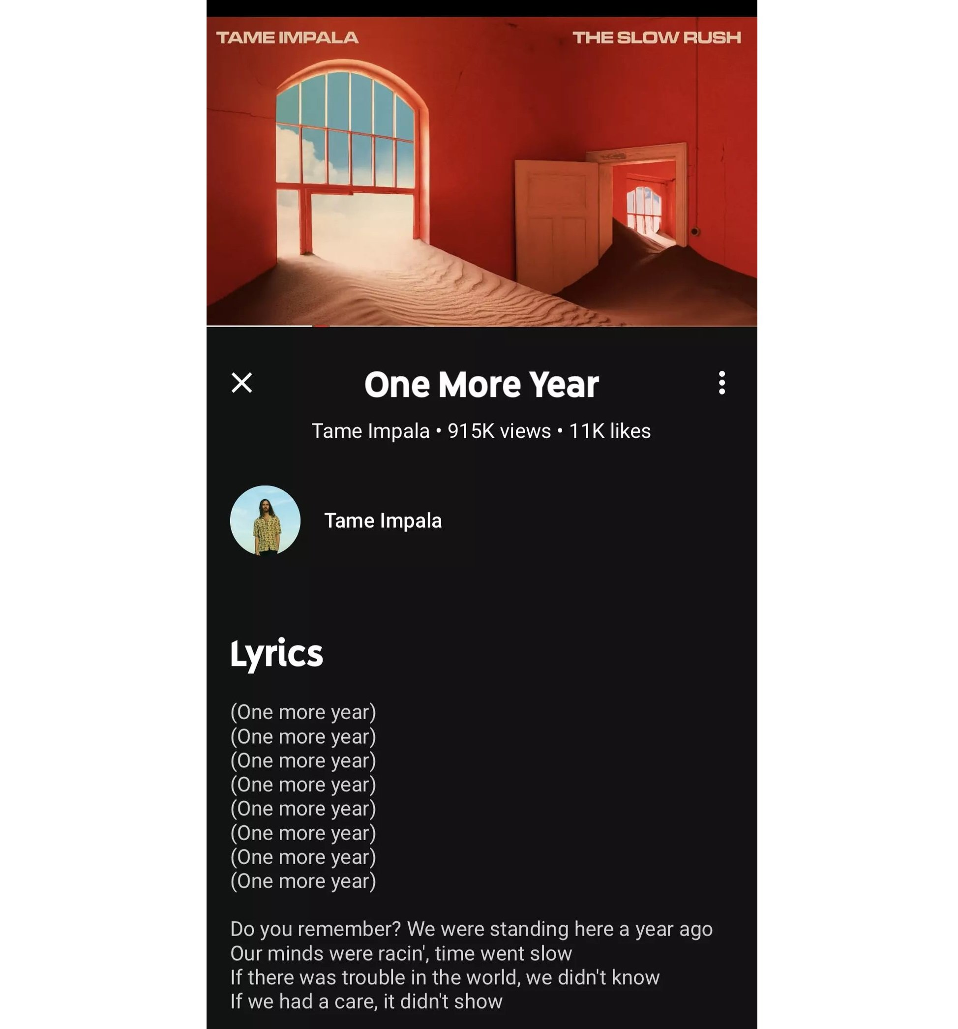 youtube music songtext