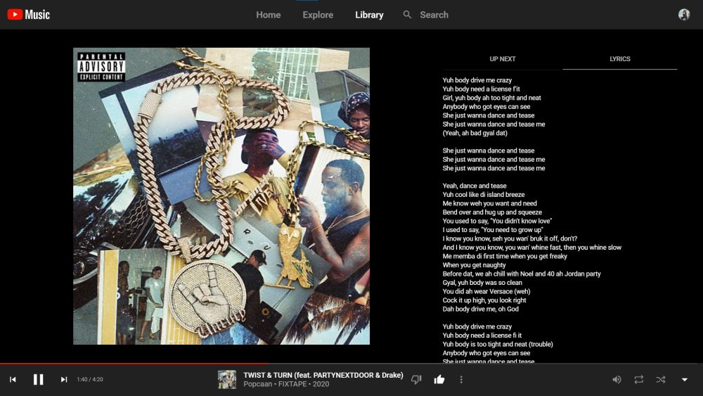 youtube music songtexte 2