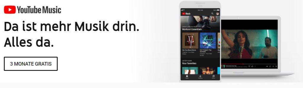 youtube music werbung