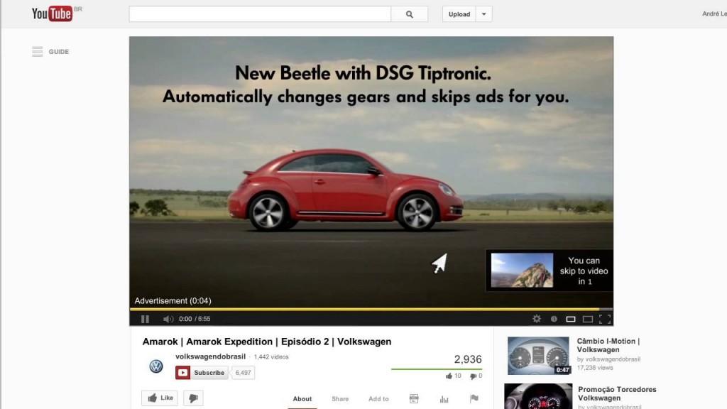 youtube skip ad