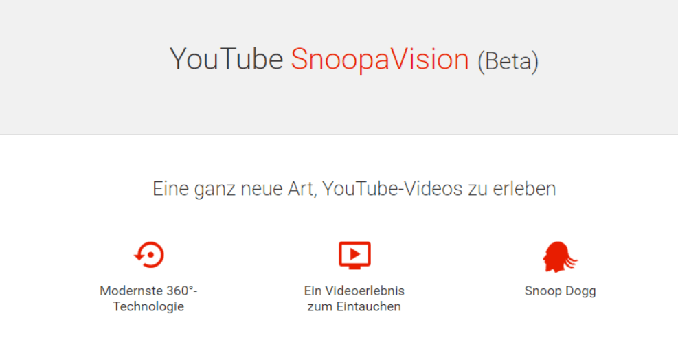 youtube snoopavision