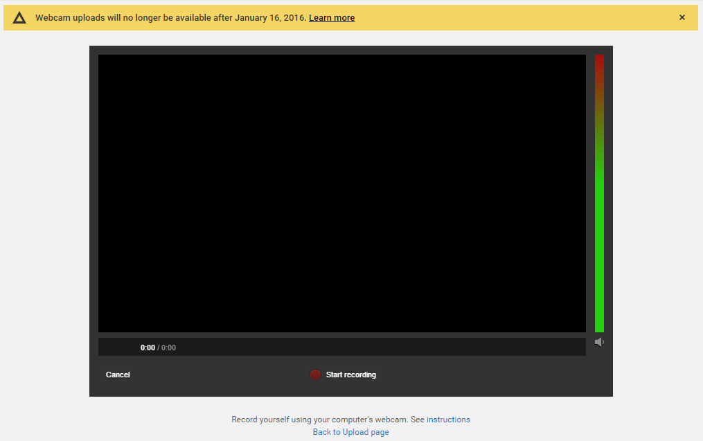 youtube webcam capture