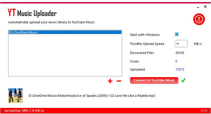 yt music uploader upload